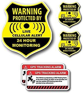 Amazon.com: Anti-Theft Car Vehicle Stickers with GPS ...