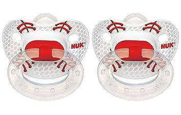 Amazon.com: NUK 2 Count Deportes ortodoncia chupete, tamaño ...