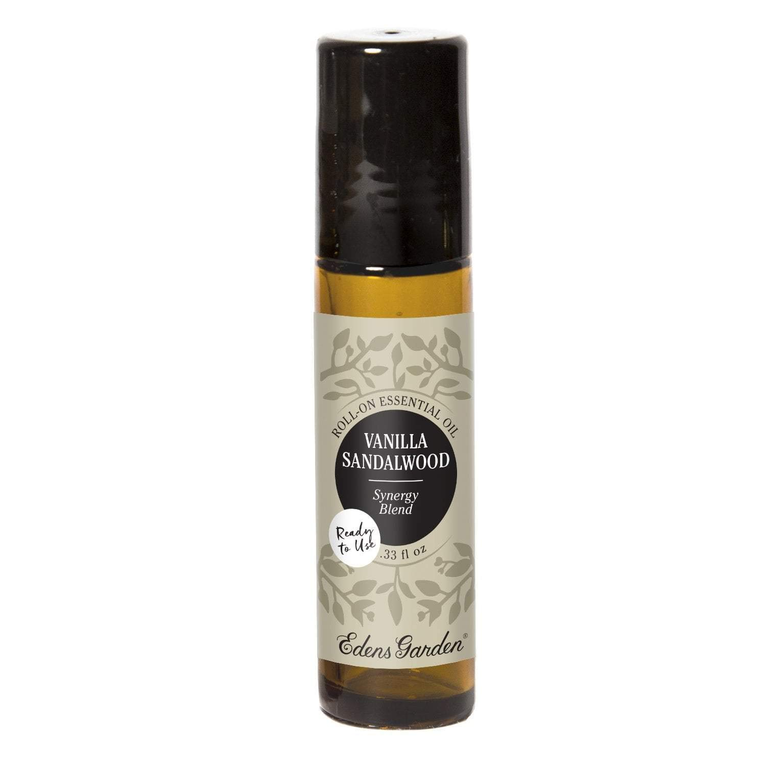 Edens Garden Vanilla Sandalwood Essential Oil Synergy Blend, 100% Pure Therapeutic Grade (Pre-Diluted & Ready To Use- Skin Care & Stress), 10 ml Roll-On