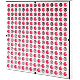 SGROW 45W Red Light Therapy Red Light Deep Red 660nm and Near Infrared 850nm Led Light Therapy Panels