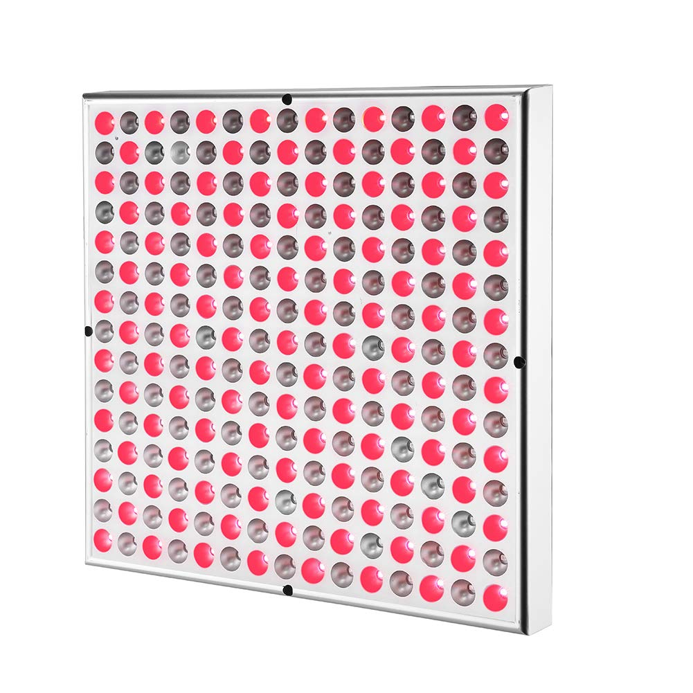 SGROW 45W Red Led Light Therapy Deep Red 660nm and Near Infrared 850nm Led Light Therapy Panel ... by sgrow