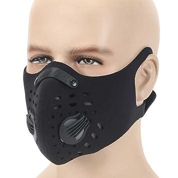 Máscara de polvo, moho de carbón activado polen alergia pm2,5 anti polvo Máscara