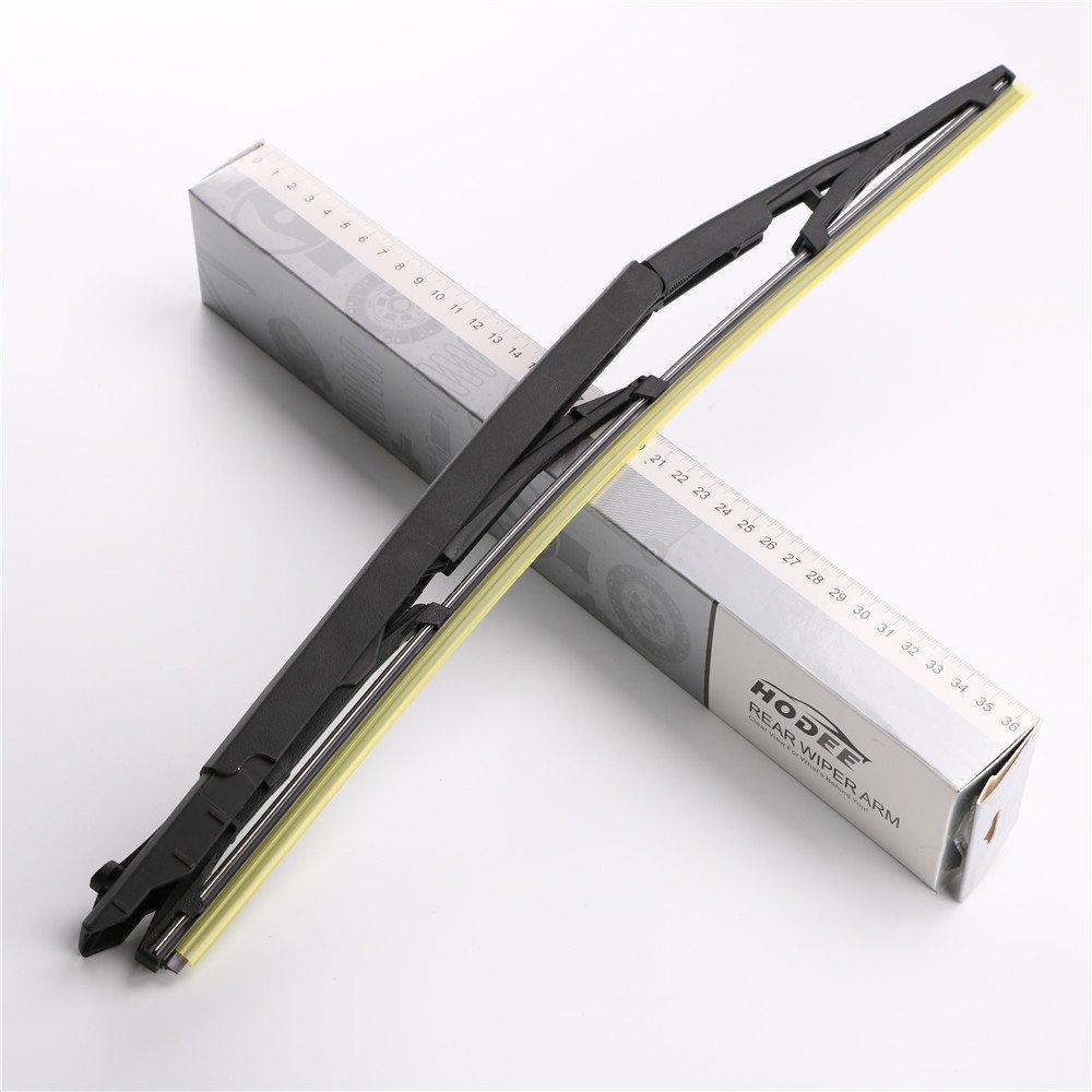 HODEE Braccio del tergicristallo posteriore /& Spazzola//Rear Wiper Arm /& Blade OE:K68040371AA//K68077939AA//K68040372AA