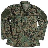 Teesar ACU Ripstop Combat Shirt Digital Woodland size M