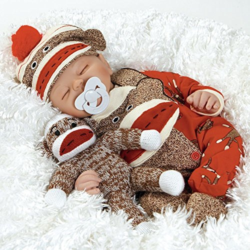 Paradise Galleries Reborn Baby Doll That Looks Real Sock