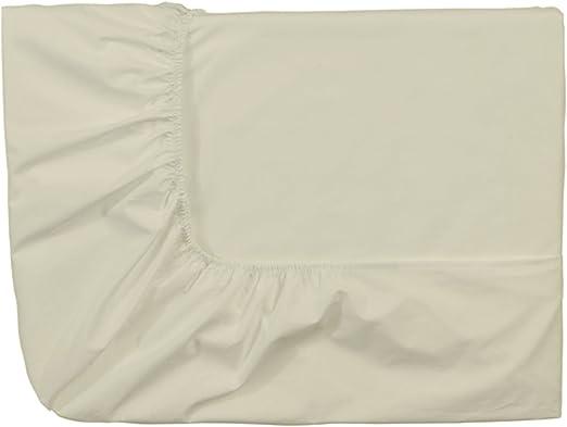 Essix Home Collection - Sábana Bajera (algodón percal, 120 x 190 ...