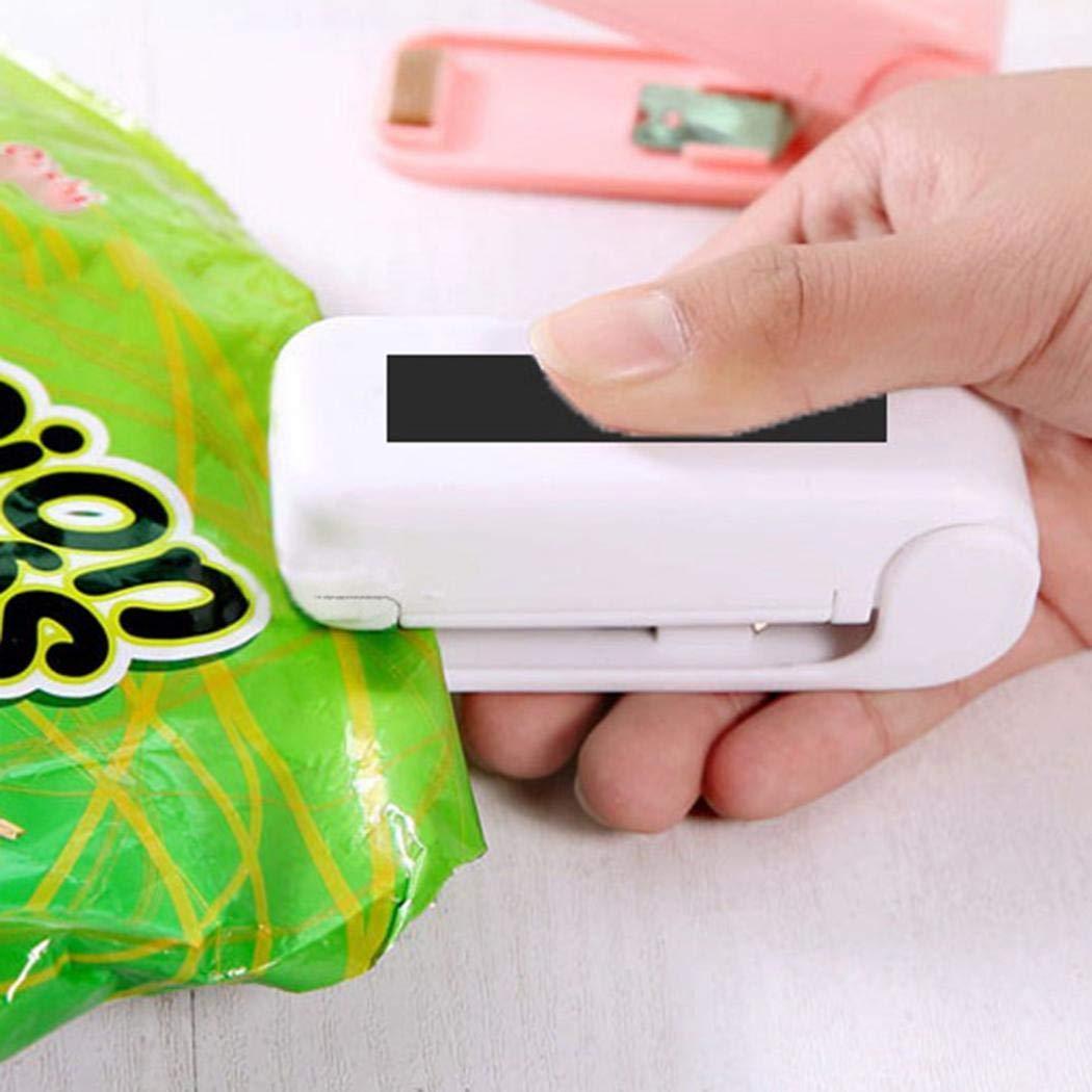 riklos ABS Packet resealer bolso Sealer Heat Seals Alimentos conservació n al vací o sellos Llanta sellado