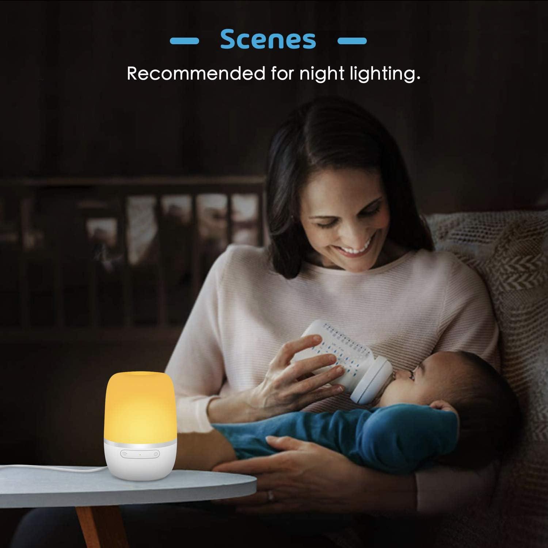 Luz Nocturna Infantil Meross, Lámpara LED para Niños, Multicolor ...