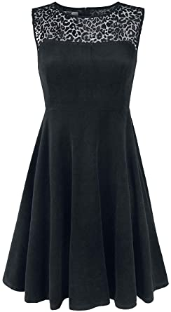 Black Premium by EMP Come On Eileen Mittellanges Kleid schwarz ... d71e9498cc