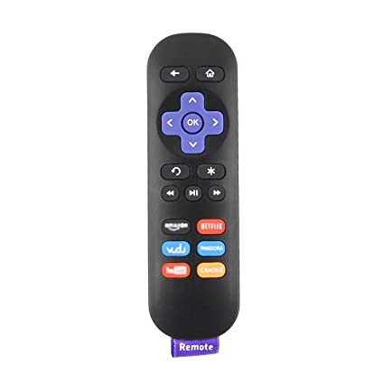 New Replace Remote Control for ROKU 1 2 3 4 LT HD XD XS with 6 Shortcut  Keys YouTube