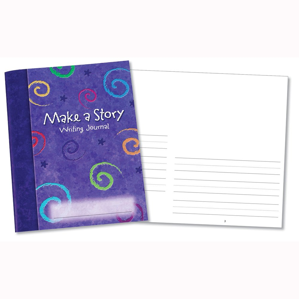 Learning Resources Make a Story Writing Journal Set of 10