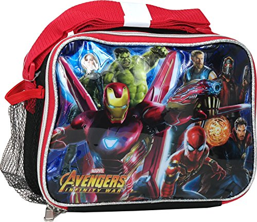 [해외]어벤져스 인피니티 워 소프트 런치 키트 백 / Avengers Infinity War Soft Lunch kit Bag