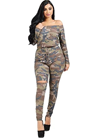 Clothing, Shoes & Accessories Jumpsuit Camouflage White Blue Blue Men Jumpsuit Jumper Blue Jogging Suit