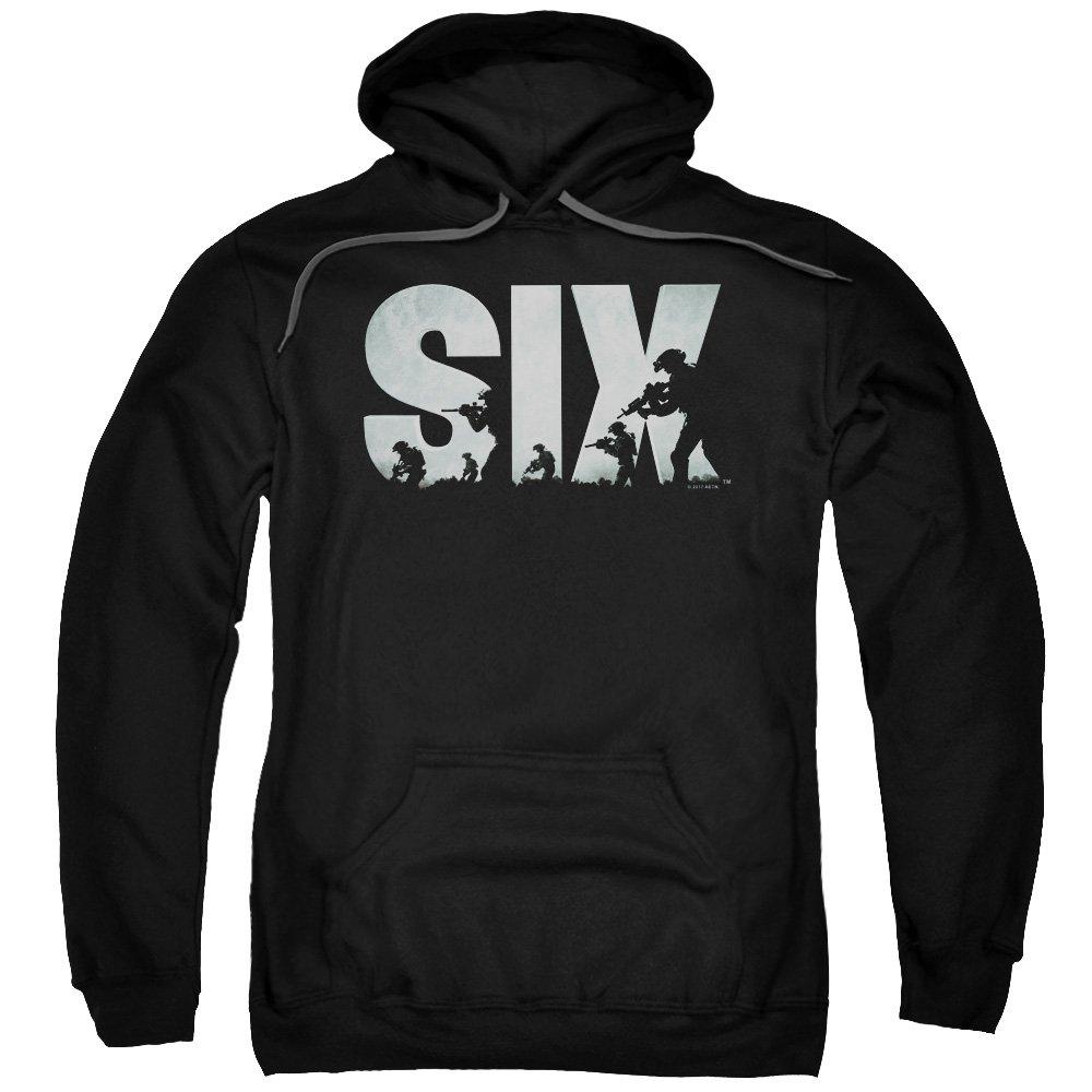 SIX - - Männer Soldat Logo Pullover Hoodie