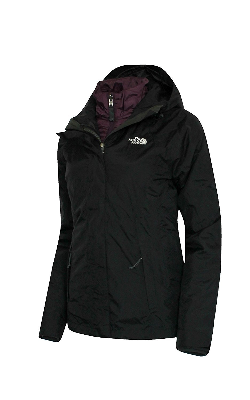 The North Face Womens BLAKESLIE Triclimate 3 in 1 system jacket BL/PRPL $315 (L) [並行輸入品] B078BQ75J1