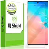 IQ Shield Screen Protector Compatible with Samsung Galaxy Note 10+ Plus (Note 10+ 5G, 6.8 inch Display)(2-Pack)(Case Friendly