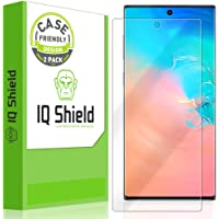 IQ Shield Screen Protector Compatible with Samsung Galaxy Note 10+ Plus (Note 10+ 5G, 6.8 inch Display)(2-Pack)(Case Friendly) LiquidSkin Anti-Bubble Clear Film