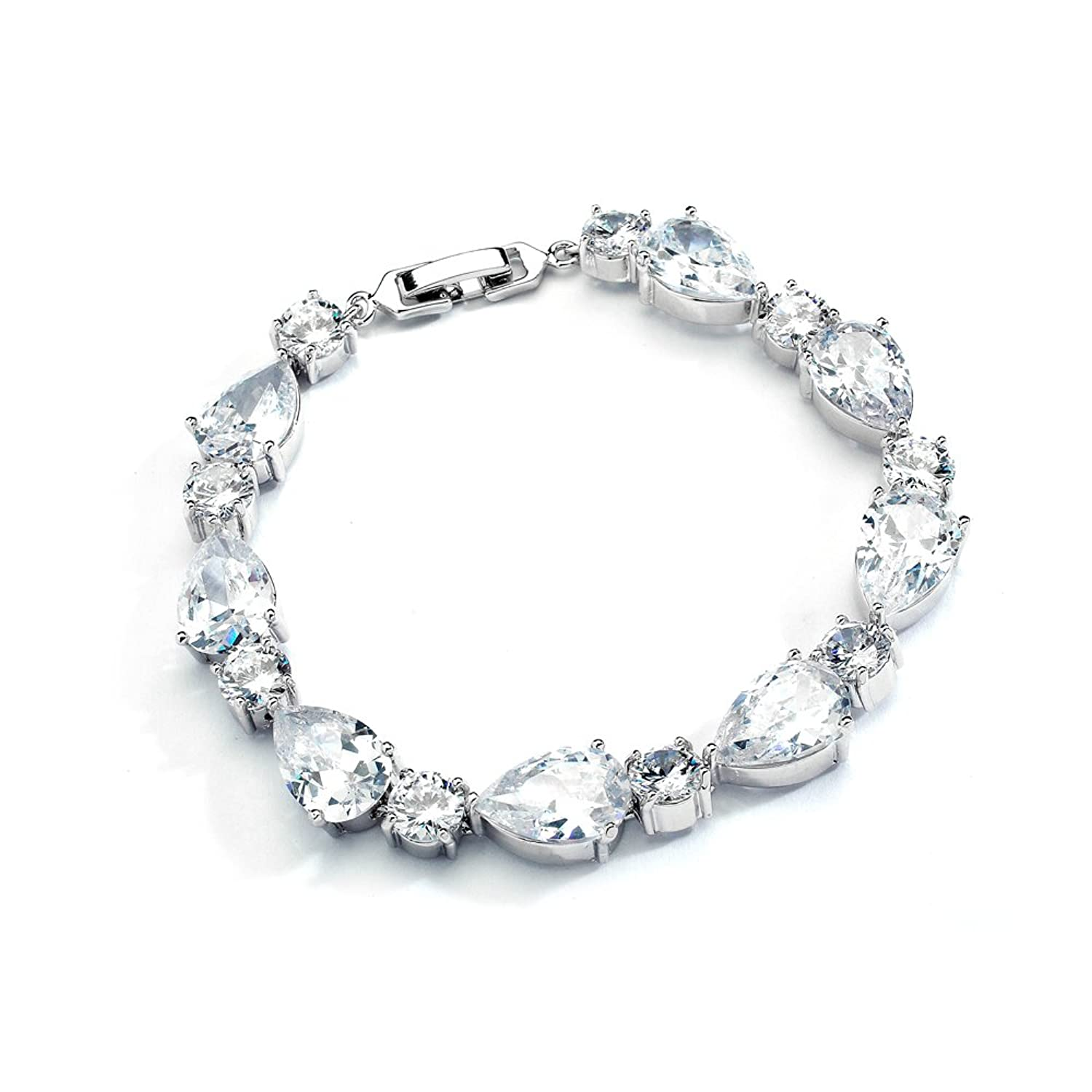 charm stainless steel heart swarovski products with graduation crystal personalized bracelet