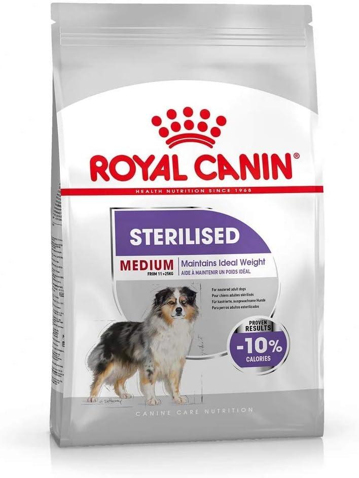 Royal Canine Adult Sterilised Medium 10Kg 10000 g