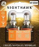 GE Lighting H7-55NH/BP2 Nighthawk Automotive Replacement Bulbs, 2-Pack