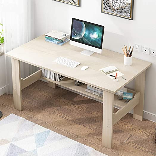 Computer Desk Chlidren Adults Office White Small 39″ Writing Study Desk