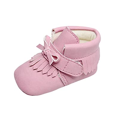 Amazon.com: Botas para bebé, recién nacido, bebé, chica, de ...