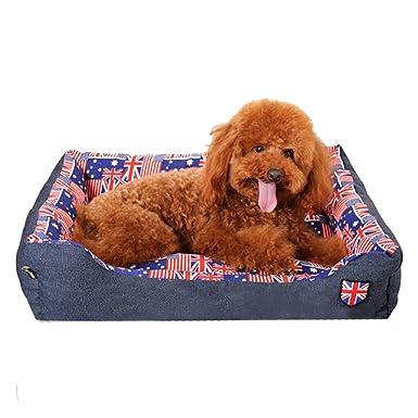 cama mascotas perros accesorios, Sannysis almohadillas mascotas perros accesorios deportiva perros cama de perrito almohadilla caliente cama para perro casa ...