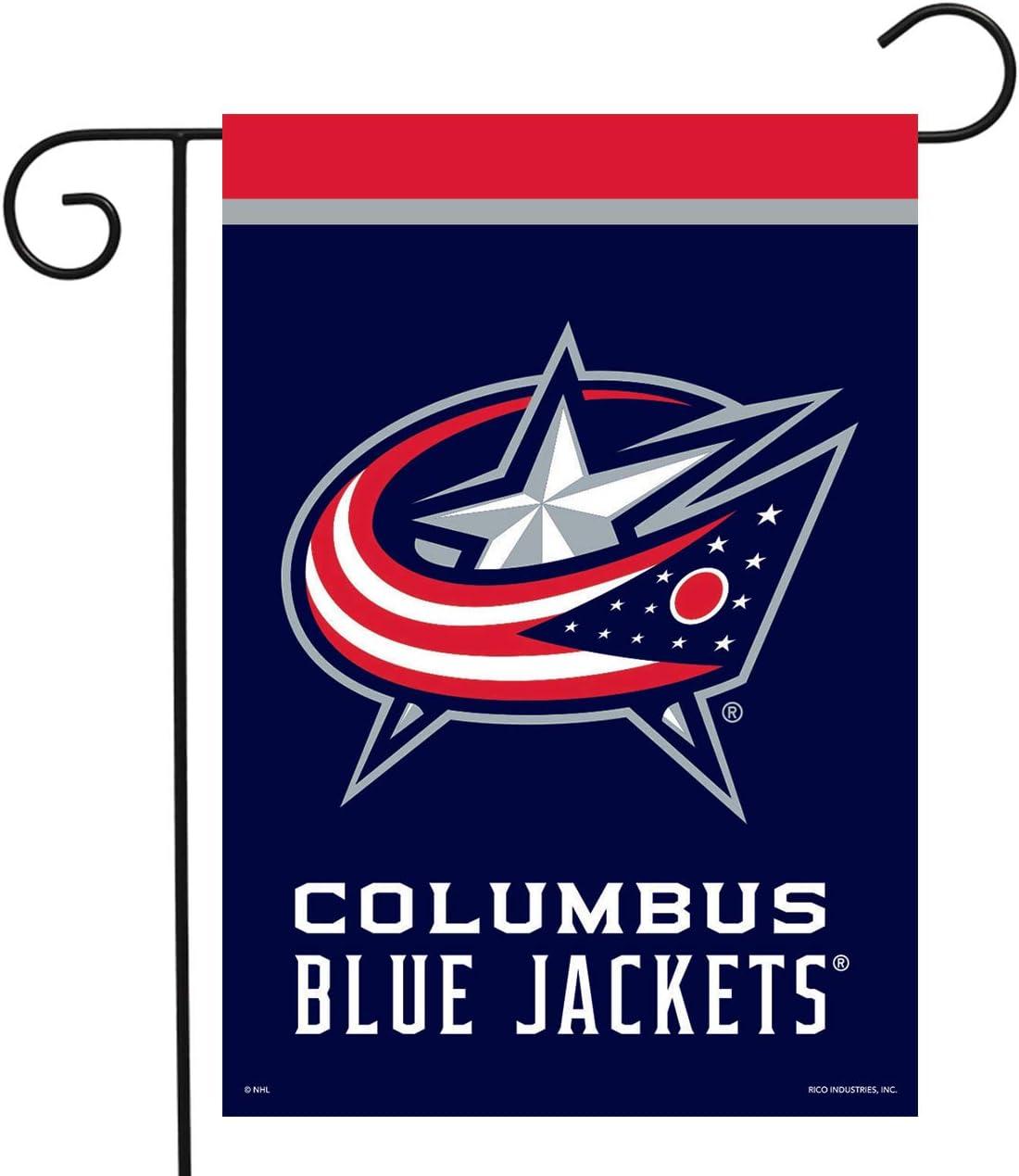 Sparo Columbus Blue Jackets Garden Flag Hockey Licensed 12.5