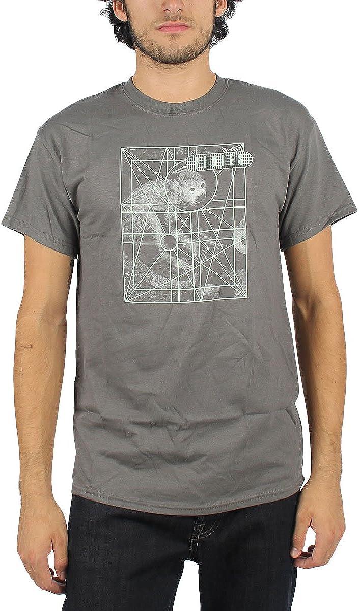 Pixies - Hombre Mono rejilla de la camiseta en el carbón de leña, Medium, Charcoal: Amazon.es: Ropa y accesorios