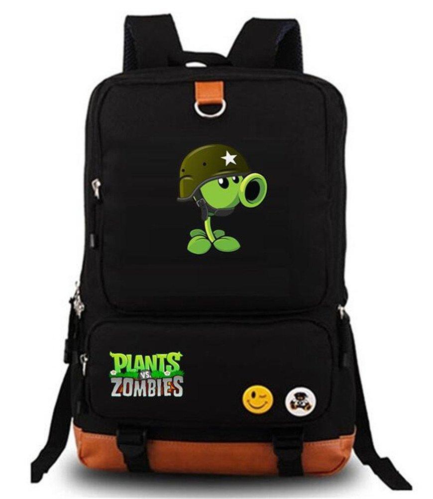 Siawasey Cute Plants Zombie Hot Game Bookbag Backpack School Bag
