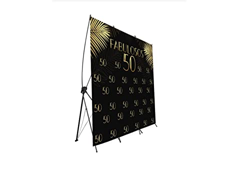 Photocall X-Banner Extensible 100% Fabulosos 50 | 150x200cm ...