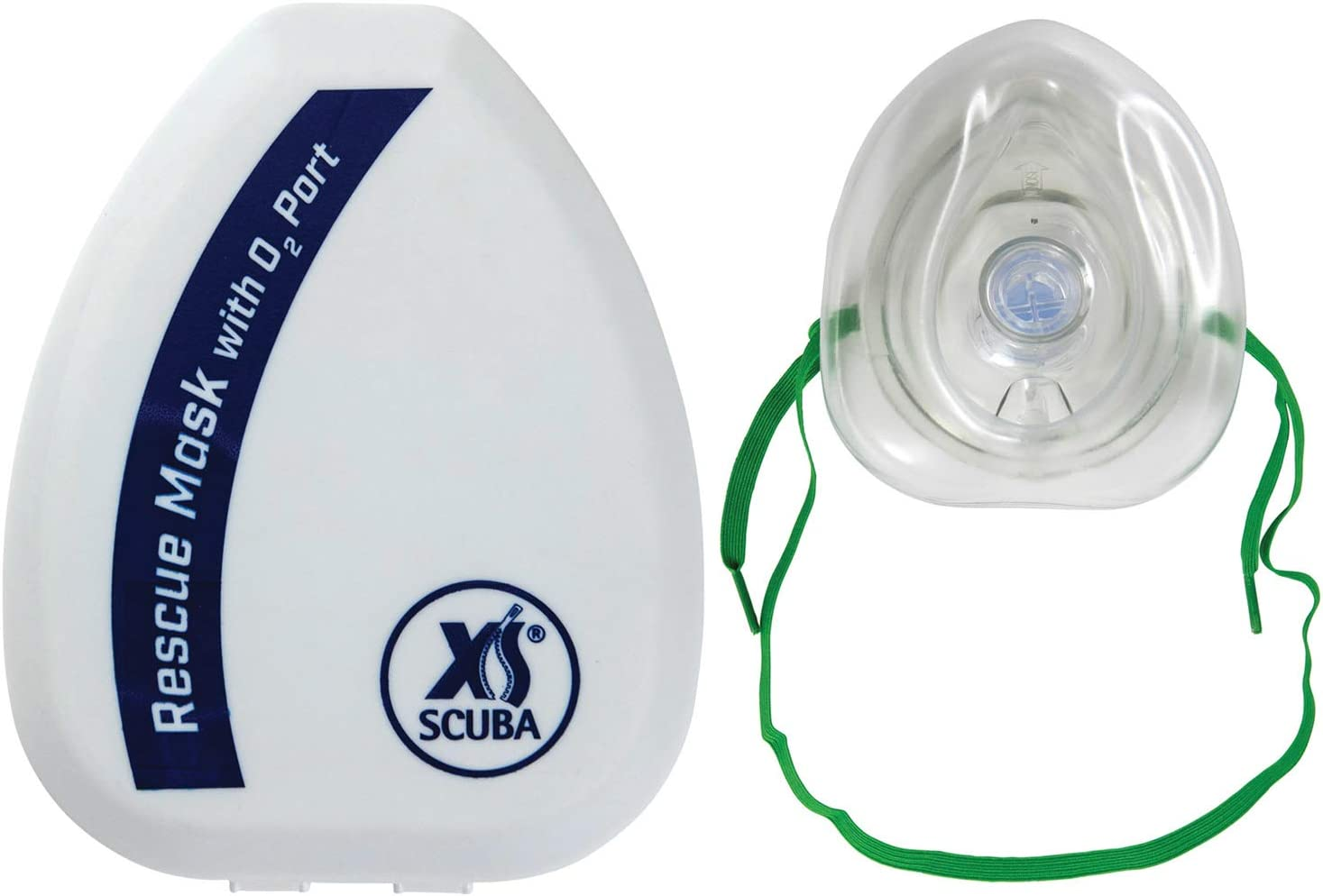 XS Scuba Pocket Rescue Mask with Case