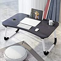 In-House Folding Laptop Table, Black, FS-3756