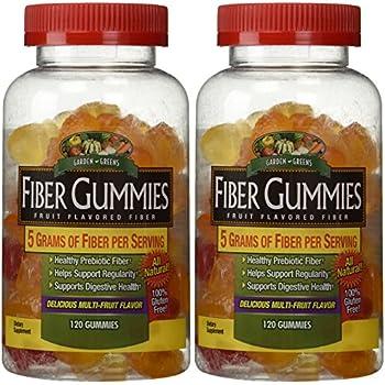 Amazon Com Garden Greens Fiber Gummies 120 Ea Pack Of