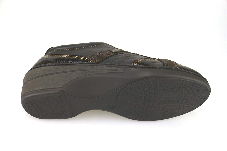 WALKSAN by SUSIMODA Fashion-Sneakers Womens Leather Brown