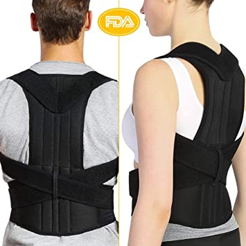 1680ad2460 Amazon.com  Back Brace Posture Corrector for Men and Women ...