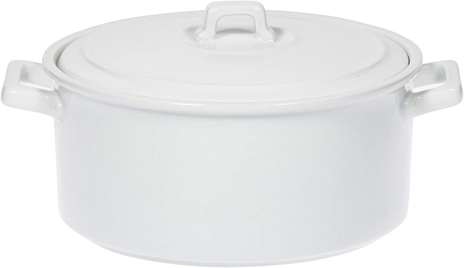Home Essentials 15151 Covered Casserole with Handle, 1 Quart, 9-inch Length
