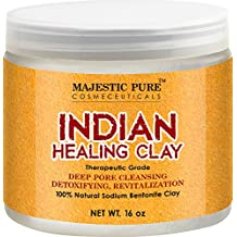 Majestic Pure Indian Healing Clay Powder, 16 Oz