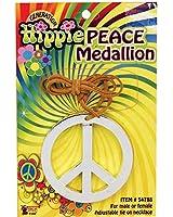 Forum Novelties Women's Groovy Peace Medallion