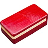 Blovec Puzzle Box Magic Box Wooden Special Mechanism Box for Secret Gift