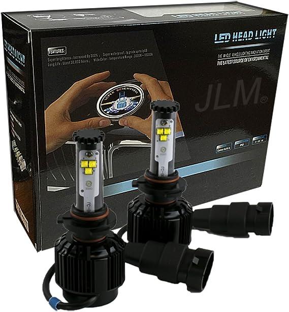 2X H3 LED Headlight Conversion Kit 12000LM 60W 6000K White Bulbs Light PR125