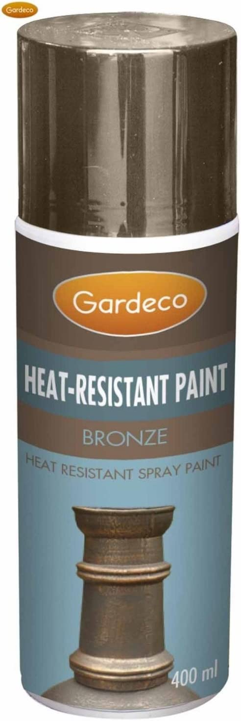 Stove Paint Spray Can Finish Bronze Amazon Co Uk Diy Tools