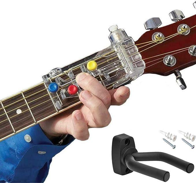 Chordbuddy - Soporte para guitarra: Amazon.es: Instrumentos musicales