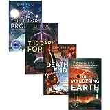 刘慈欣科幻小说经典4册套装:流浪地球+三体系列 英文原版 The Wandering Earth & The Three-Body Problem 1-3
