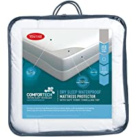 Tontine Comfortech Dry Sleep Waterproof Mattress Protector, King Single
