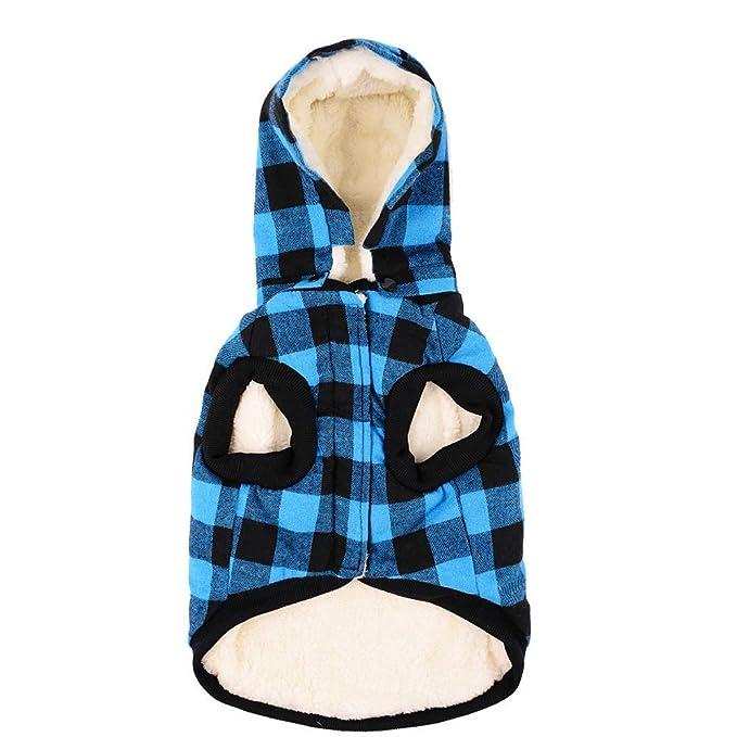 competitive price d58d3 1b7b0 RC GearPro Reversibile British Style Plaid Dog Vest Cappotto ...
