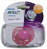 Philips Avent Soother Fast Flow - 6 to 18 months (Single Pack) (Color may Vary)