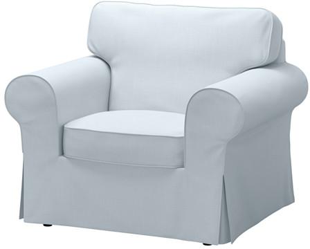 EKTORP Chair - Nordvalla light blue - IKEA