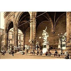 20x30 Poster; Loggia Dei Lanzi, Florence, Tuscany, Italy, Ca. 1897