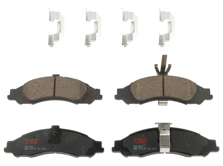 TRW TPC1043 Premium Ceramic Front Disc Brake Pad Set